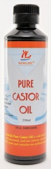 Internal castor oil